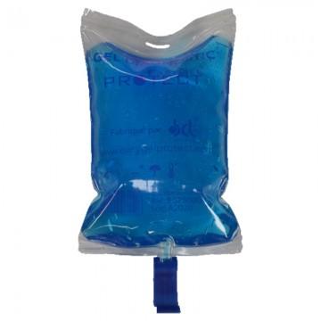 Resealable gel bag...